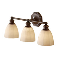 Feiss Nella 3 Light Vanity Strip in Heritage Bronze VS23003-HTBZ