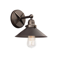 Hooper 1 Light 9 inch Antique Bronze Vanity Light Wall Light