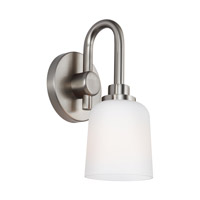 Reiser 1 Light 6 inch Satin Nickel Vanity Light Wall Light