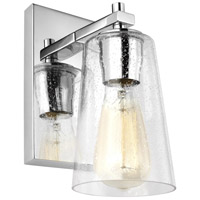 Mercer 1 Light 5 inch Chrome Wall Sconce Wall Light