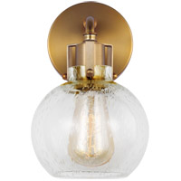 Clara 1 Light 6 inch Burnished Brass Wall Sconce Wall Light
