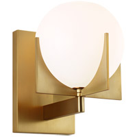 Feiss VS2461BBS Abbott 1 Light 6 inch Burnished Brass Wall Bath Fixture Wall Light