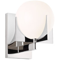 Feiss VS2461PN Abbott 1 Light 6 inch Polished Nickel Wall Bath Fixture Wall Light
