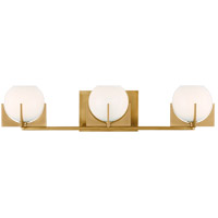 Feiss VS2463BBS Abbott LED 24 inch Burnished Brass Wall Bath Fixture Wall Light in 3
