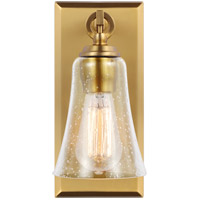 Monterro 1 Light 5 inch Burnished Brass Wall Sconce Wall Light