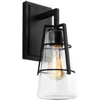 Feiss VS2471MBK Adelaide 1 Light 5 inch Midnight Black Wall Bath Fixture Wall Light