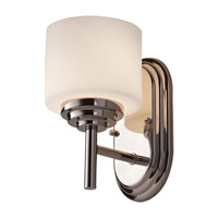 Malibu 1 Light 5 inch Polished Nickel Vanity Strip Wall Light