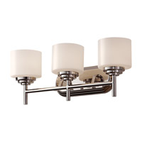 Feiss Malibu 3 Light Vanity Strip in Polished Nickel VS26003-PN