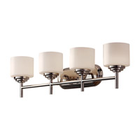 Feiss Malibu 4 Light Vanity Strip in Polished Nickel VS26004-PN