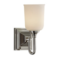 Feiss Harvard 1 Light Vanity Strip in Brushed Steel VS27001-BS photo thumbnail