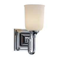 Harvard 1 Light 5 inch Chrome Vanity Strip Wall Light