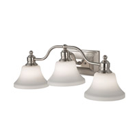 Feiss Cumberland 3 Light Vanity Strip in Brushed Steel VS31003-BS