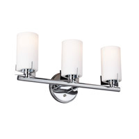 Feiss Kenton 3 Light Vanity Strip in Chrome VS39003-CH