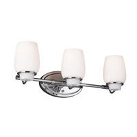 Feiss Colby 3 Light Vanity Strip in Chrome VS40003-CH