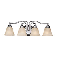 Feiss Bristol 4 Light Vanity Strip in Chrome VS6704-CH
