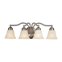 Feiss Bristol 4 Light Vanity Strip in Pewter VS6704-PW