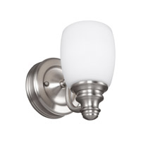 Bentley 1 Light 5 inch Satin Nickel Vanity Light Wall Light