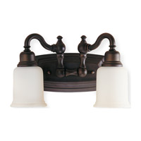 Canterbury 2 Light 14 inch Oil Rubbed Bronze Vanity Strip Wall Light