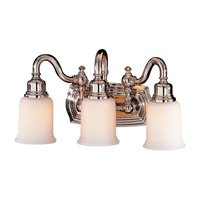 Feiss Canterbury 3 Light Vanity Strip in Polished Nickel VS8003-PN