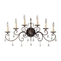Feiss Chateau 6 Light Wall Bracket in Mocha Bronze WB1228MBZ