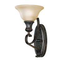 Feiss WB1240LBR Cervantes 1 Light 7 inch Liberty Bronze Wall Sconce Wall Light photo thumbnail