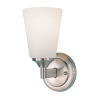Feiss WB1249BS Gravity 1 Light 5 inch Brushed Steel Wall Sconce Wall Light photo thumbnail