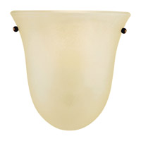 Vista 1 Light 8 inch Corinthian Bronze Wall Sconce Wall Light in Cream Snow Glass