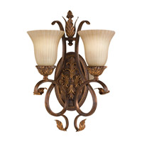 Sonoma Valley 2 Light 14 inch aged Tortoise Shell Wall Sconce Wall Light