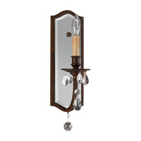 Feiss Salon Maison 1 Light Wall Bracket in Aged Tortoise Shell WB1332ATS