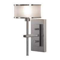 Feiss Casual Luxury 1 Light Wall Bracket in Brushed Steel WB1378BS