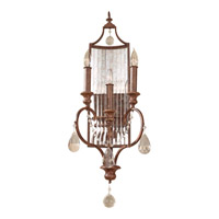 Feiss WB1448MBZ Gianna Scuro 3 Light 11 inch Mocha Bronze Wall Sconce Wall Light photo thumbnail