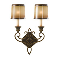 Justine 2 Light 13 inch Astral Bronze Wall Sconce Wall Light