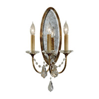Valentina 3 Light 11 inch Oxidized Bronze Wall Sconce Wall Light