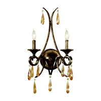 Feiss WB1563GIS Reina 2 Light 13 inch Gilded Imperial Silver Wall Sconce Wall Light photo thumbnail