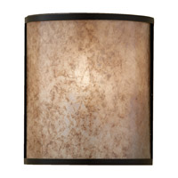 Feiss Taylor 1 Light Wall Sconce in Light Antique Bronze WB1566LAB