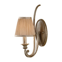 Feiss Abbey 1 Light Wall Sconce in Silver Sand WB1567SVSD
