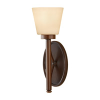 Feiss Nolan 1 Light Wall Sconce in Heritage Bronze WB1571HTBZ
