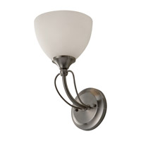 Feiss Morgan 1 Light Wall Sconce in Brushed Steel WB1583BS