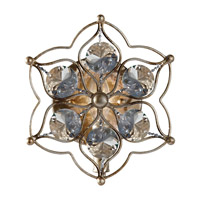 Feiss Leila 1 Light Wall Sconce in Burnished Silver WB1585BUS