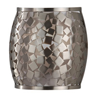 Feiss Zara 1 Light Wall Sconce in Brushed Steel WB1589BS