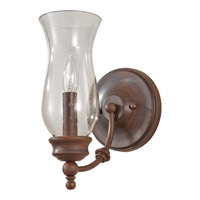 Feiss WB1597HTBZ Pickering Lane 1 Light 6 inch Heritage Bronze Wall Sconce Wall Light photo thumbnail