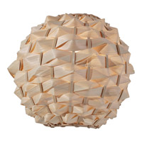 Feiss Denmark 1 Light Wall Sconce in Natural Bamboo WB1602NB