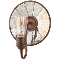 Feiss Urban Renewal 1 Light Wall Bath Fixture in Astral Bronze WB1701ASTB-AL