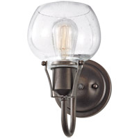 Feiss Urban Renewal 1 Light Wall Bath Fixture in Rustic Iron WB1702RI-AL