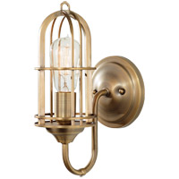 Feiss Urban Renewal 1 Light Wall Bracket in Dark Antique Brass WB1703DAB