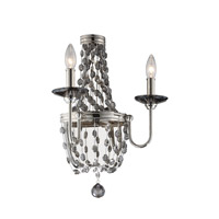 Feiss Malia 2 Light Wall Bracket in Polished Nickel WB1709PN