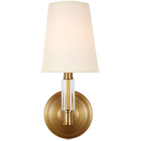 Feiss WB1717BBS Lismore 1 Light 6 inch Burnished Brass Wall Sconce Wall Light