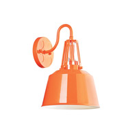 Feiss Freemont LED Wall Bath Fixture in Hi Gloss Orange WB1726SHOG-LA