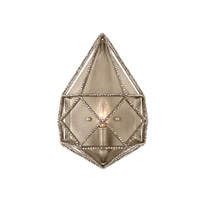 Marquise 1 Light 9 inch Burnished Silver Wall Sconce Wall Light