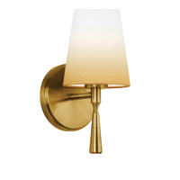 Feiss Tori 1 Light Wall Bath Fixture in Bali Brass WB1743BLB-F